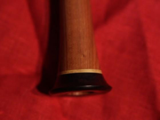 Detail Schallbecher mit feinem Buchsring