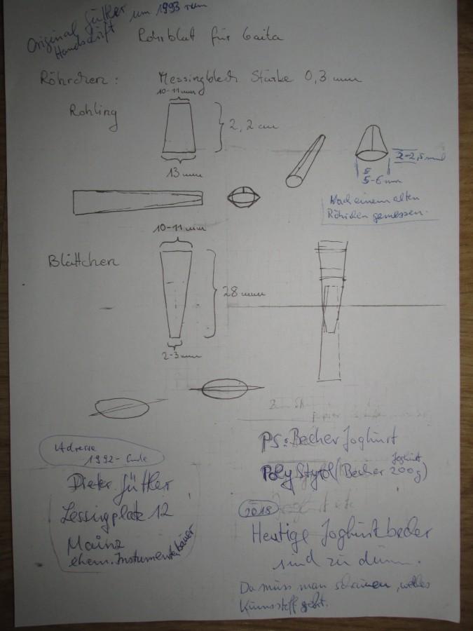 GAITA-ROHRBLATT-Bauanleitung